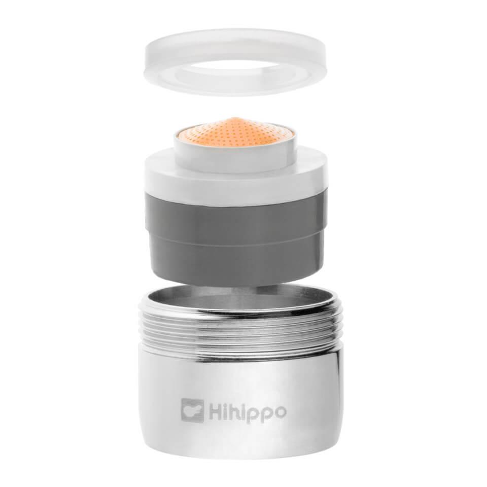 Aeratore per rubinetto Hihippo T 3.8 - 8.0 l/min - Filettatura M24x1 maschio - più popolare