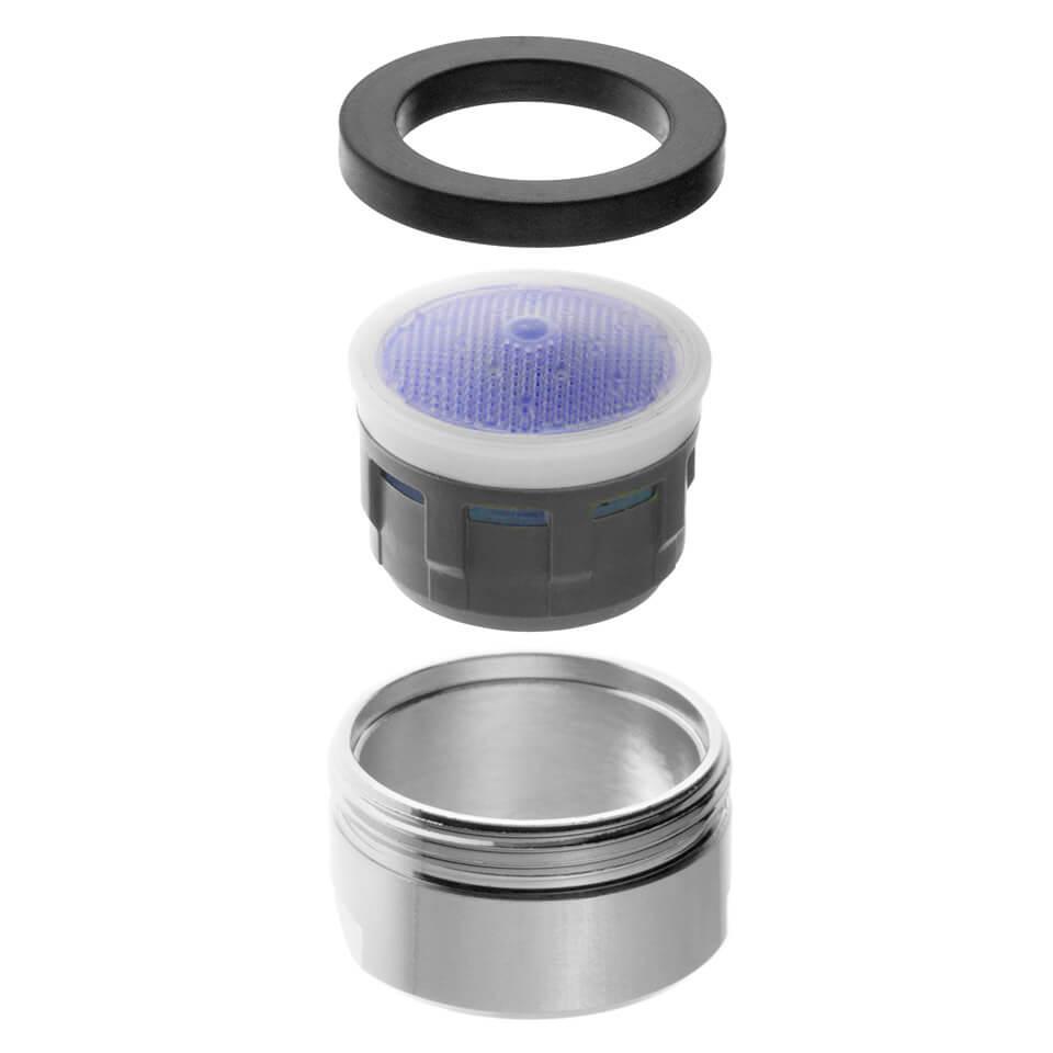 Aeratore per rubinetto Neoperl SLC 3.8 l/min - Filettatura M24x1 maschio - più popolare