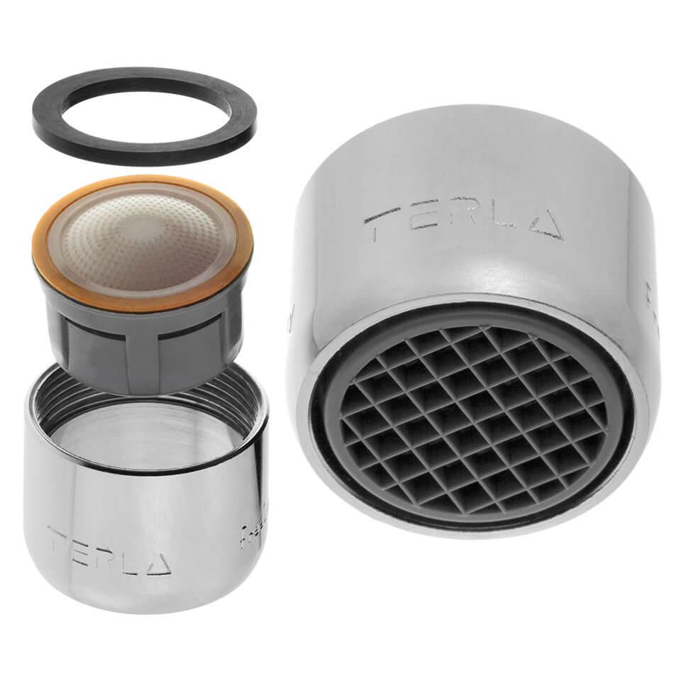 Aeratore per rubinetto Terla FreeLime 2.5 l/min - Filettatura F22x1 femmina
