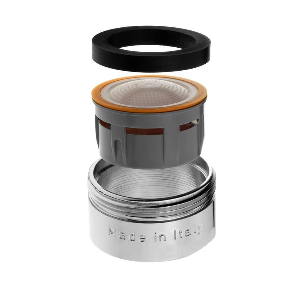 Aeratore per rubinetto Terla FreeLime 2.5 l/min - Filettatura M24x1 maschio - più popolare