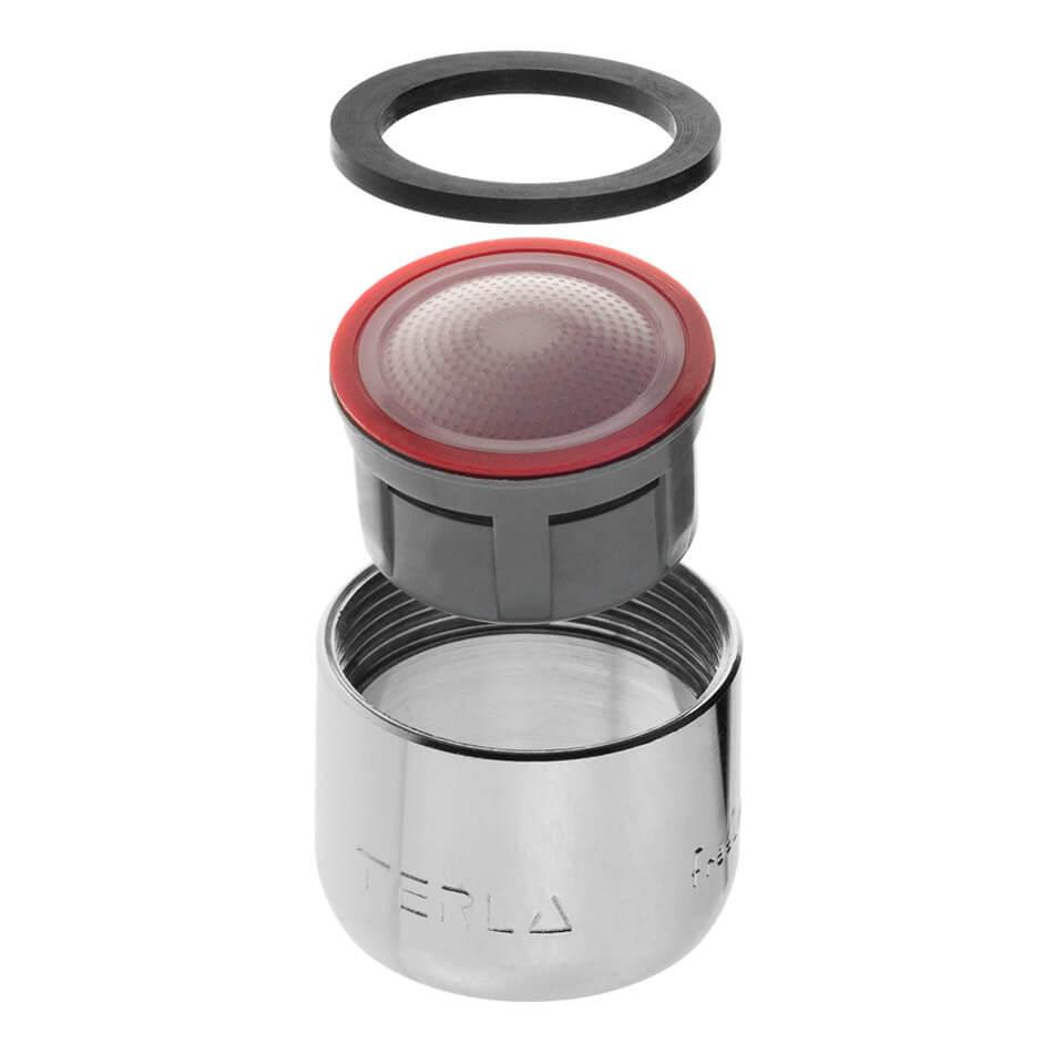 Aeratore per rubinetto Terla FreeLime 4.5 l/min - Filettatura F22x1 femmina