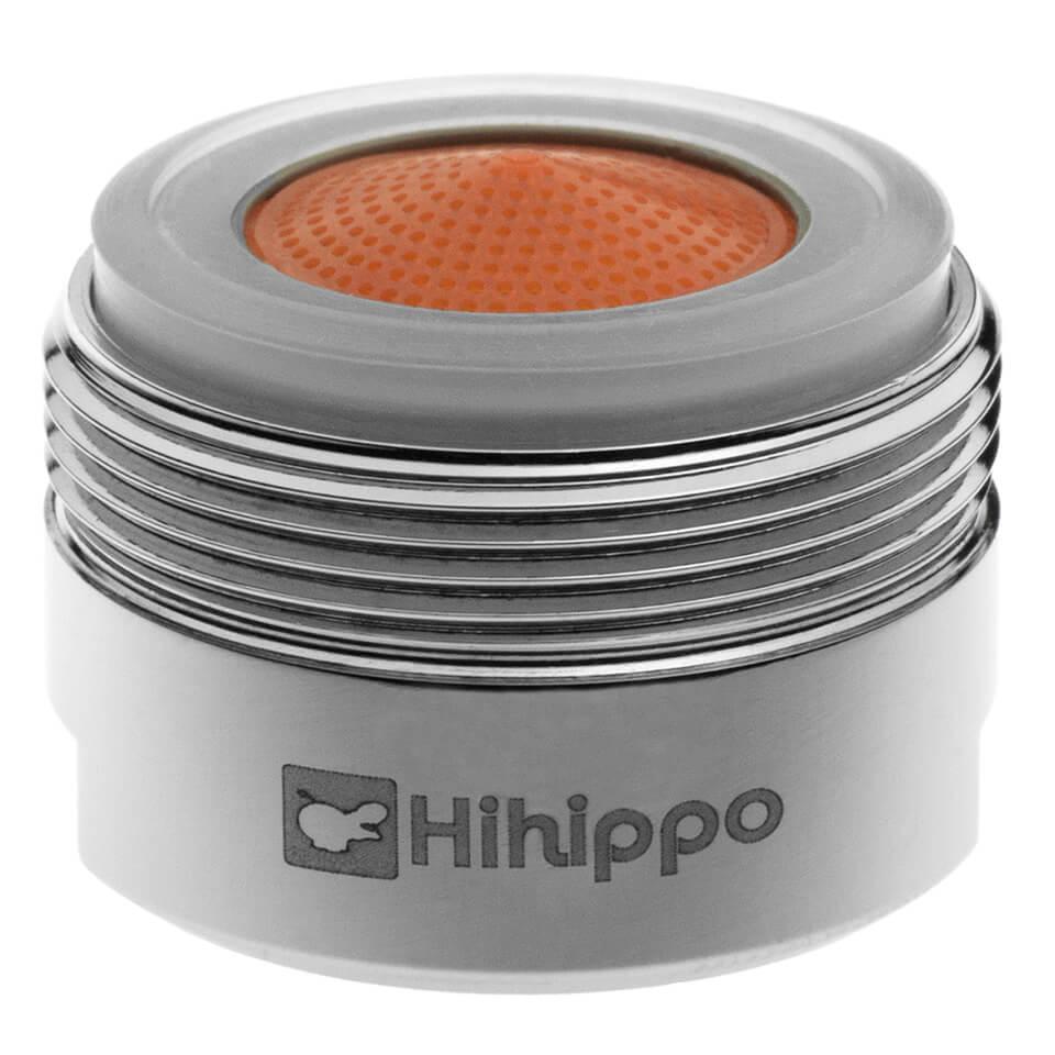 Aeratore per rubinetto Hihippo HP 1.8 - 4.2 l/min start/stop - Filettatura M24x1 maschio - più popolare