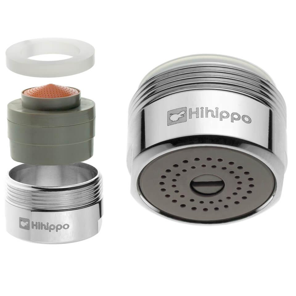 Aeratore per rubinetto regolabile Hihippo R 1.8 – 8.0 l/min