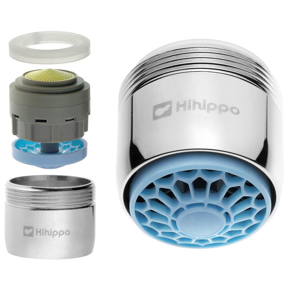 Aeratore per rubinetto Hihippo SHPn 3.8 - 8.0 l/min start/stop