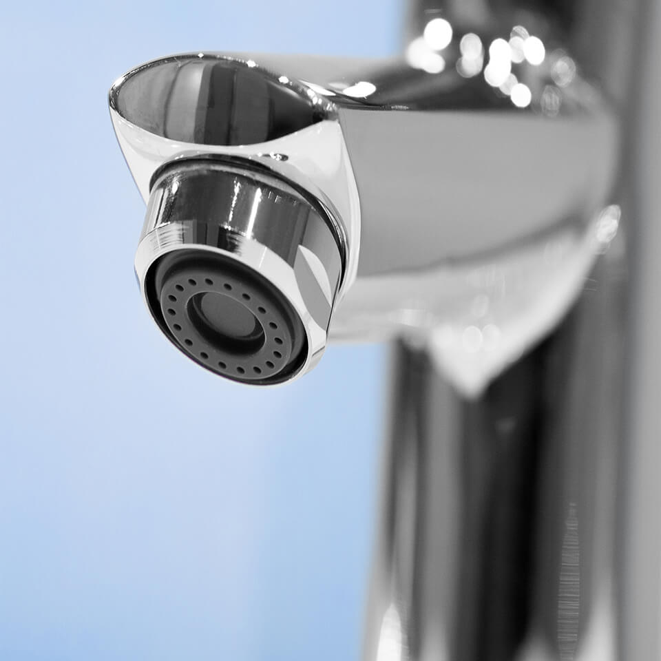 Aeratore per rubinetto Neoperl Spray 1.9 l/min M18x1 - Filettatura M18x1 maschio