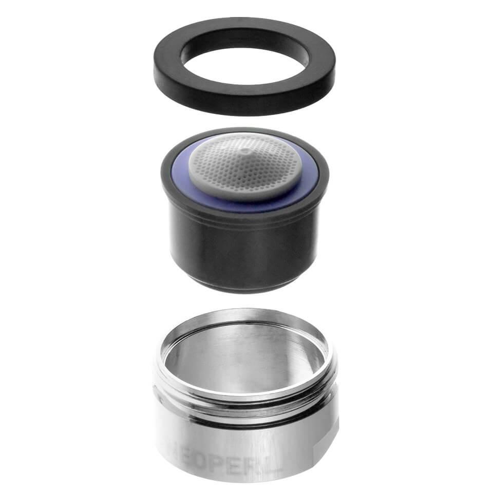 Aeratore per rubinetto Neoperl Spray 3 l/min - Filettatura M24x1 maschio - più popolare