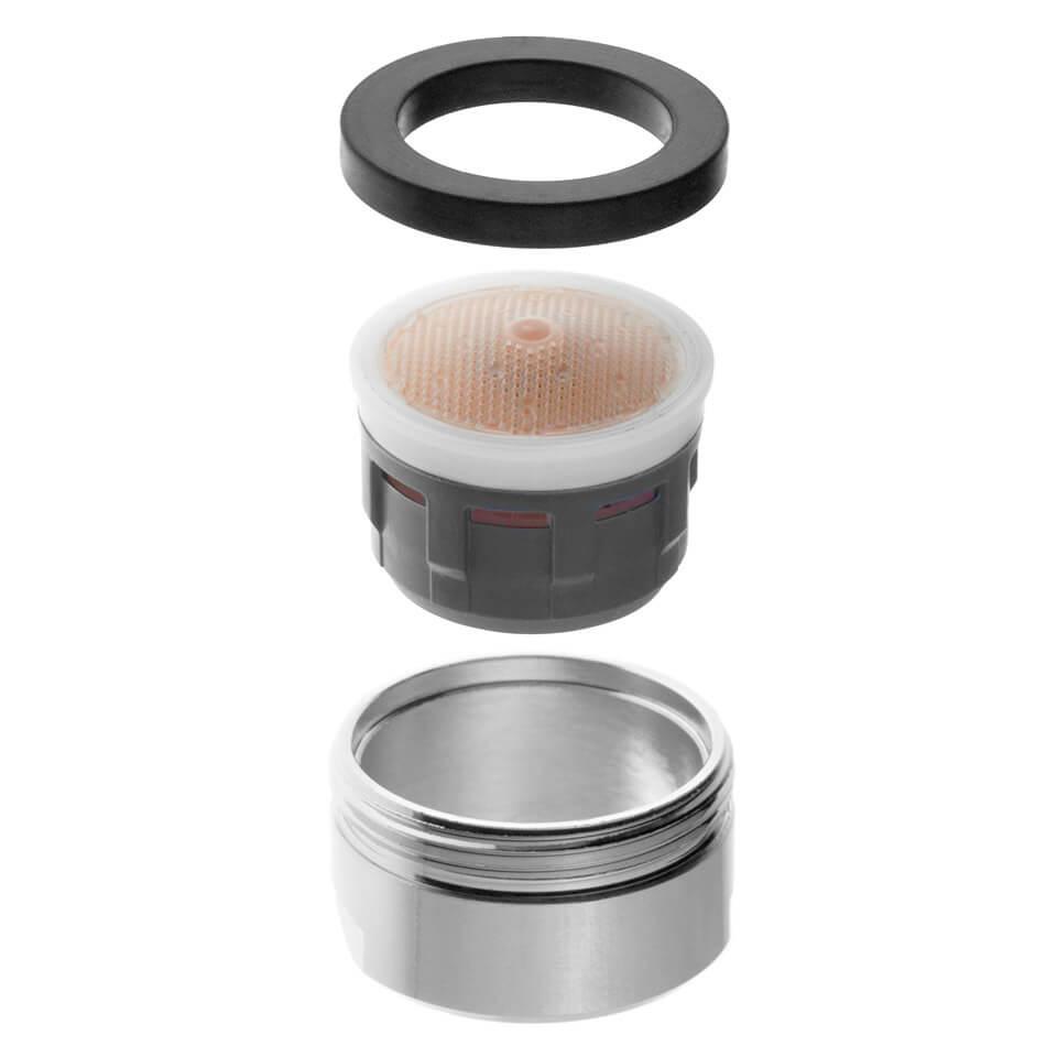 Aeratore per rubinetto Neoperl SLC 5 l/min - Filettatura M24x1 maschio - più popolare