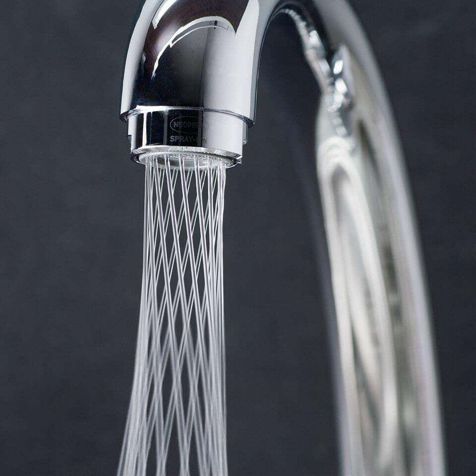 Aeratore per rubinetto Neoperl Mikado Tre 1.2 l/min - Filettatura
