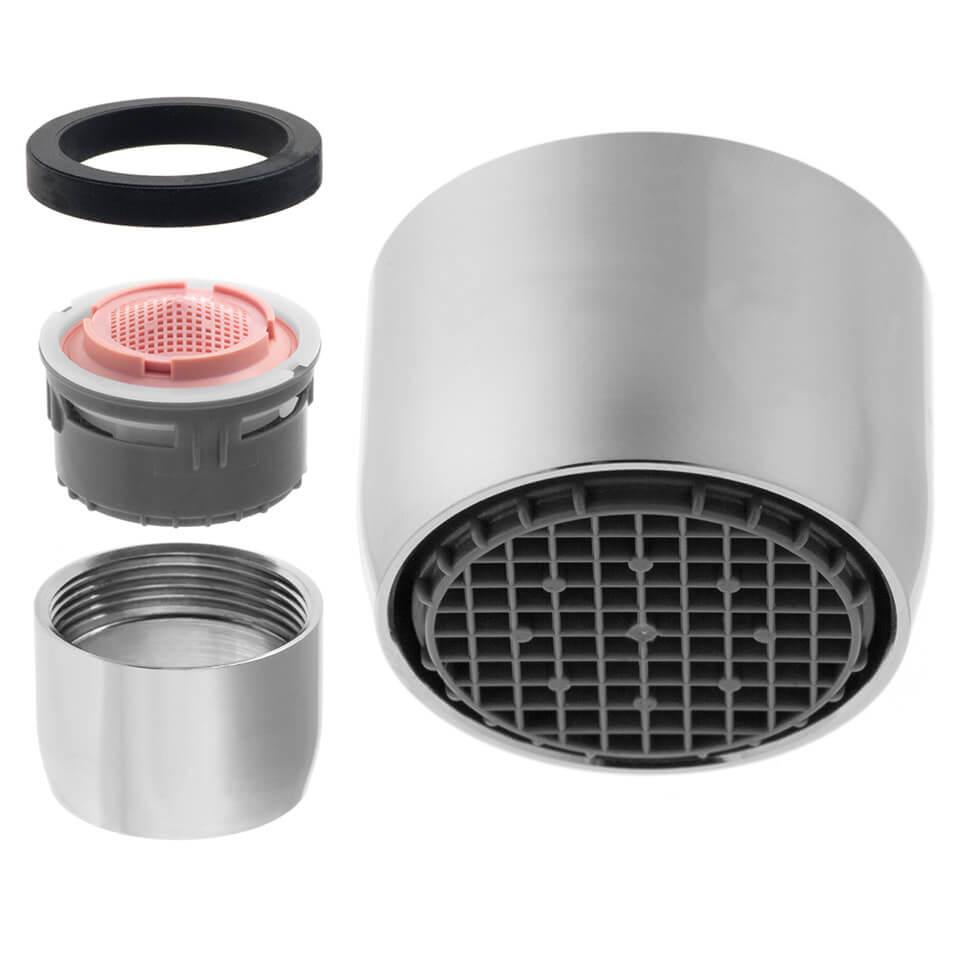 Aeratore per rubinetto AF 3.8 l/min - Filettatura F22x1 femmina