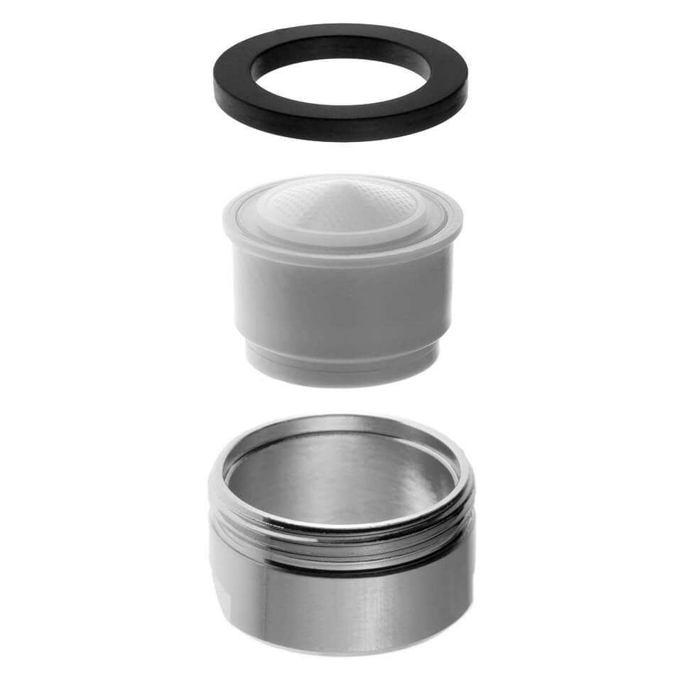 Aeratore per rubinetto EcoVand 2.5 l/min - Filettatura M24x1 maschio - più popolare