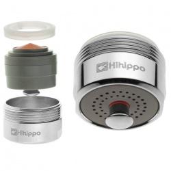 Aeratore per rubinetto Hihippo HP 1.8 - 4.2 l/min start/stop