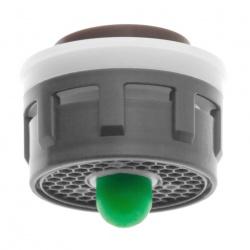 L'inserto per l'aeratore Neoperl Push con un pulsante da 5 o 11 l/min